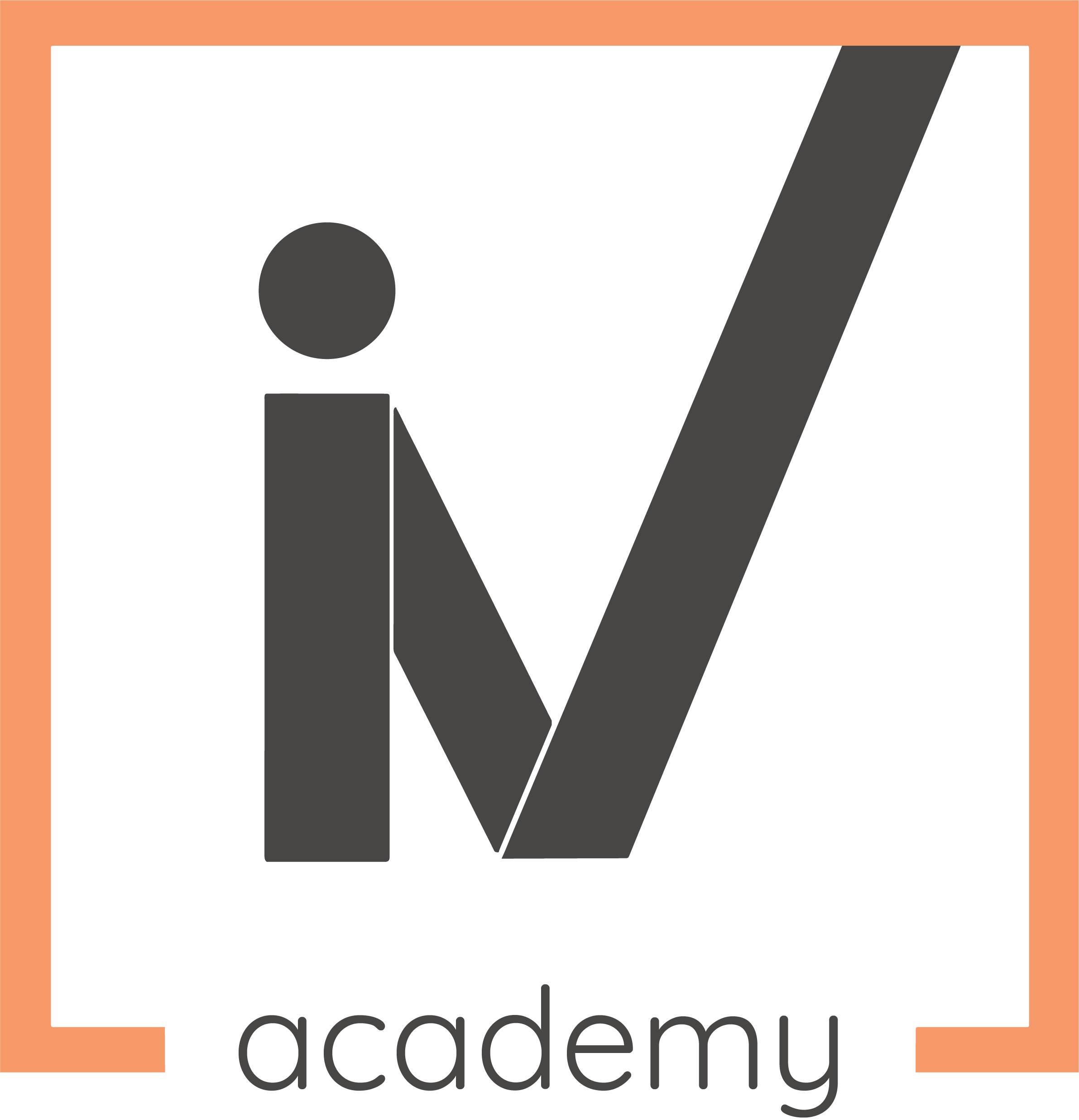 IV academy-oranjegrijs